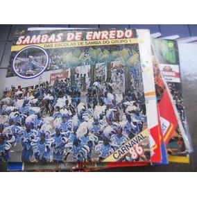 Lote Com 20 Discos De Samba Enredo Do Rio E São Paulo