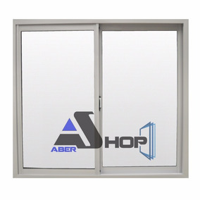 Ventana Aluminio 150x110 Promo Abershop