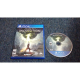 Dragon Age Inquisition Completo Para Play Station 4,checalo