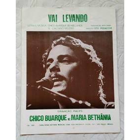 Partitura Piano - Vai Levando (chico Buarque & Caetano V.)