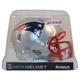 Nfl New England Patriots Mini Casco Modelo Speed By Riddell