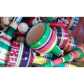 Balero Juguete De Madera Mexicano Ninos Juegos Infantil Mm9 En
