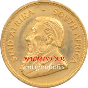 Moeda De Ouro Maciço 33.9 Gr 1 Krugerrand Africa Do Sul 1978