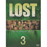 Box - Lost - Terceira Temporada - 7 Dvds- Lacrado