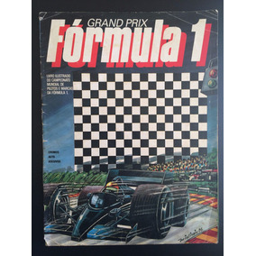 Álbum Grand Prix Fórmula 1 - 1986