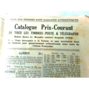 Catalogo Selo Yvert&tellier 1952 Mundial Frances1750 Paginas