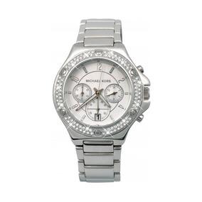 cfbfc7de0debb Relógio Michael Kors Feminino Mk 5513 Silver - Relógios De Pulso no ...