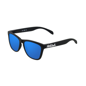 Lentes De Sol Northweek - Matte Black Blue Polarized