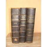Antiguos Libros Franceses Del Siglo 19 - Valor X C/u