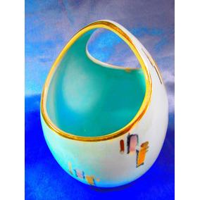 El Arcon Hermoso Florero Art Deco De Porcelana 18 Cm 2021