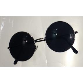 Óculos De Sol Preto Jhon L Lentes Redondas Unissex Promoção · R  59 99 4193bc3445