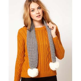 Ropa Accesorios Moda Hermosas Bufandas Tejidas A Crochet ... b5e842a18db