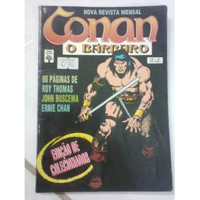Conan O Bárbaro Nº1 - Edição Colecionador.