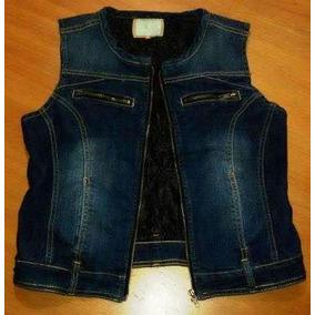 Chaleco De Jeans Forrado Con Abrigo - Talle M- 3d23d8d2c5e6