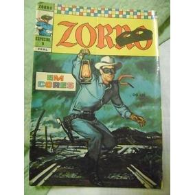 Zorro(em Cores) Nº 9 Janeiro 1972 Ebal Raro E Ótimo!