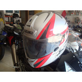 Casco Shoei Dot Snell M2000 Large Suzuki Rf-900 Motomaniaco