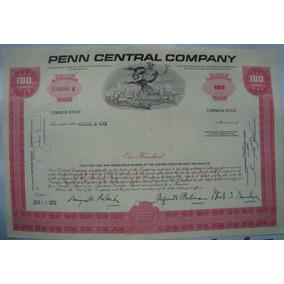 Apolice - The Penn Central Corporation, Ano 1970 - 239646e