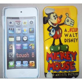 Capa Apple Ipod Touch 5 Walt Disney Mickey Pelicula Brinde