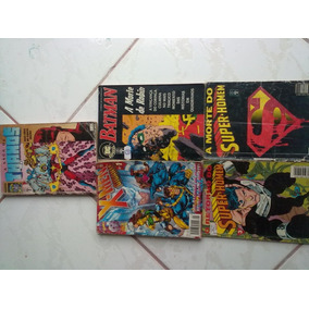 Hq. X-men/retorno Super-homem/batman.r$30,00 Cada.avulso.