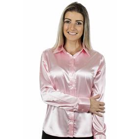 6a113579f3 Camisa Xadrez Infantil Feminina - Camisa Social Manga Longa Rosa ...