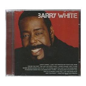 Cd Barry White - Best Of (novo-lacrado)