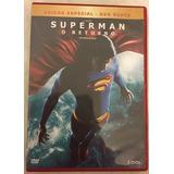 Dvd Original Duplo Filme Superman O Retorno