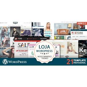 21 Template Loja Virtual Wordpress Fácil Design Profissional