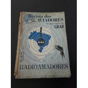 Livro Antigo Guia Dos Radio Amadores Brasileiros Aviador