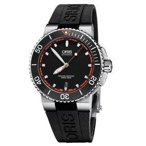 Reloj Oris Aquis Automatico Date Para Hombre 73376534128