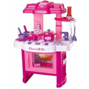 Kit Cozinha Infantil C/som E Luzes