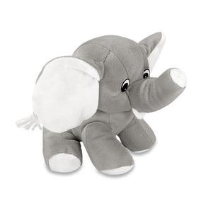 Elefante Cinza De Pelucia 20 Cm Lavavel Antialergico Unissex