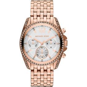 36ad013ce7d Relógio Michael Kors (rose Gold Ouro Envelhecido) - Joias e Relógios ...