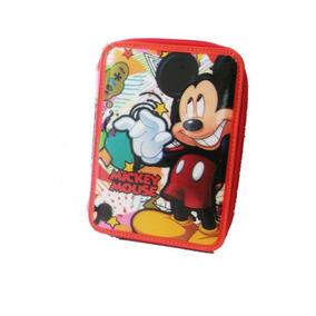 Cartuchera Mickey Disney 2 Pisos - Giro Didáctico