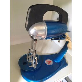 Batedeira Antiga Arno Anos 60 Azul Reformada 110v