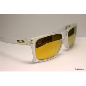 24k Po Oakley Holbrook Shaun White Gold Series Matte Clear - Óculos ... cd6f4a8516
