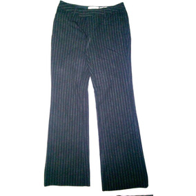 Pantalon Ejecutivo Dama Negro Con Franjas Old Navy Talla 1