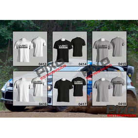 Remeras World Rally Championship - Wrc + Calco De Regalo
