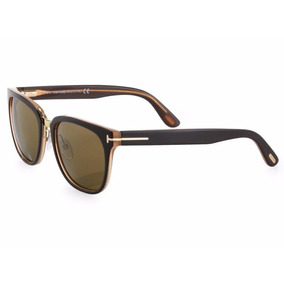 Óculos De Sol Tom Ford Rock Tf 290 50j Marrom E Creme 730b38549d