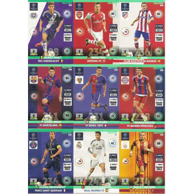 Adrenalyn Champions League 2014-15 Master Completa 25 Cards