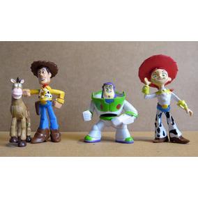 Kit Com 4 Bonecos Toy Story