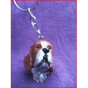 Lindo Chaveiro Beagle Marrom- Cachorro Cães De Raça