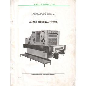 Esquema Elétrico Adast Dominante 725p + Livro Do Usuário