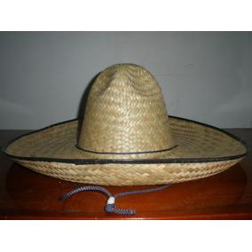 50 Sombrero Charro Paja Palma Adulto Mexico Fiesta Economico b8f8b2ffc34