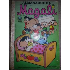 Gibi Almanaque Da Magali Nº 1 Editora Globo 1989 T. Mônica