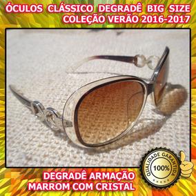 Oculos Feminino Marrom Ferrovia - Calçados, Roupas e Bolsas em ... 29247e9dc9