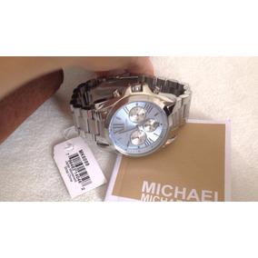 60d0c7d7f9b0f Relogio Michael Kors Mk6099 Prata - Relógios De Pulso no Mercado ...