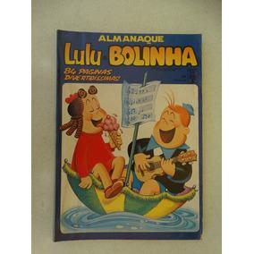 Almanaque Lulu E Bolinha Nº 24! Ed. Abril Jun 1989!