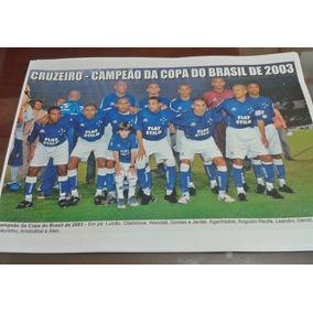 236bbda568 Poster Cruzeiro Campeão Copa Do - Coleções e Comics no Mercado Livre ...