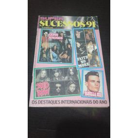 Revista Super Sucessos-91 Musicas Cifradas Guns Vanilla Ice