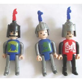 B9423 - Playmobil (generico) 3 Diferentes Com 8cm De Altura 972207d156